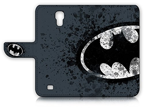 Pinky Beauty Australia Samsung Galaxy S4 Flip Wallet Case Cover & Screen Protector & Charging Cable Bundle! A8183 Batman at Gotham City Store