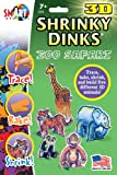 Zoo Safari Shrinky Dinks in 3D