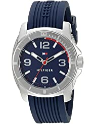 Tommy Hilfiger Women's 1791211 Tommy Sport Analog Display Quartz Blue Watch