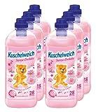 6er Vorteilspack Kuschelweich Weichspüler Weichspueler Seerose-Orchidee 6000ml für 168 Anwendungen