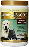 NaturVet 180 Count ArthriSoothe Gold Soft Chew for Pets