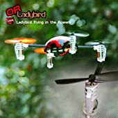 Walkera QR LadyBird V2 Mini Quadcopter W/ Devo 4 Radio, RTF