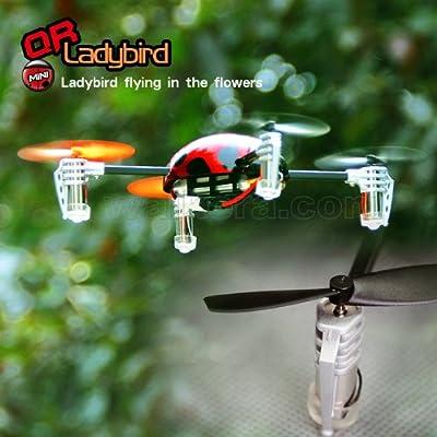 Walkera QR LadyBird V2 Mini Quadcopter W/ Devo 4 Radio, RTF