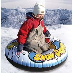 SNOW TUBE Schlitten RODEL Bob,Rutschreifen,Schneerutscher,Rodelschlauch