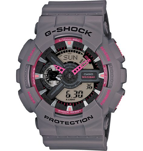 Casio G-Shock Grey Watch GA110TS-8A4