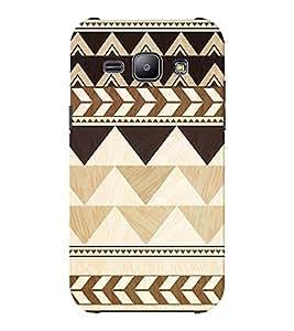 EPICCASE pyramids Mobile Back Case Cover For Samsung J1 Ace (Designer Case)