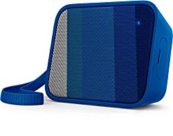 Philips BT110A/00 Splash-Proof Wireless Portable Bluetooth Speaker (Blue)