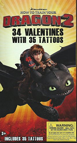 How To Train Your Dragon2 32 Valentines with 35 Tattoos