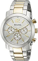 Bulova Men's 98A145 Two-Tone Stainless Steel Watch
