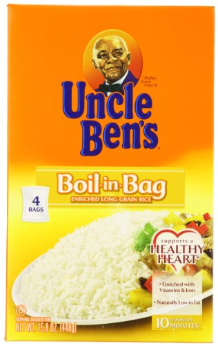 Uncle Ben's Boil in Bag Rice, 15.8 oz (Boil In The Bag Rice compare prices)