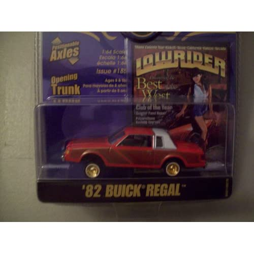 Revell Lowrider Magazine 1982 Buick Regal Toys & Games