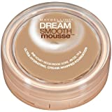 Maybelline New York Dream Smooth Mousse Foundation, Honey Beige, 0.49 Ounce, 2 Ea