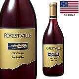 【お酒】フォレストヴィル ピノノワール (赤) 750ml [Forest Ville Pinot Noir][アメリカ・カリフォルニア]