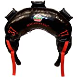 Bulgarian Bag - New Black PVC - Suples - The Original (Fitness, Crossfit, Wrestling, Judo, Grappling, Functional Training, MMA, Sandbag, Training Bag, Weighted Bag, Weight Bag) (37)