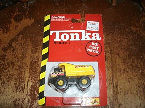 Maisto Tonka Series 1 - Mighty Dump 1/64 Truck Dumptruck