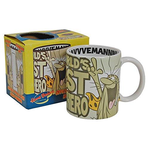 Captain Caveman Gift Boxed Mug. Classic Hanna Barbera cartoon World's First Super Hero (with free key ring) (Captain Caveman Figure compare prices)