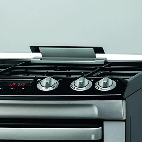 Zanussi ZCG664GXC 600mm Double Gas Cooker FSD Hob Lid S\/Steel