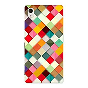 Color Ribbons Back Case Cover for Sony Xperia M4