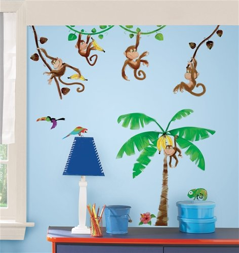 Monkey Themed Bedroom front-501682
