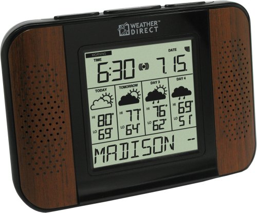 La Crosse Technology Weather Direct Wa-1240U-Wal 4 Day Talking Internet Powered Wireless Forecaster
