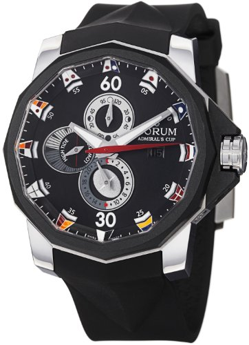 Corum Admiral?s Cup Collection Rubber Strap Men's Watch 277.931.06/0371 AN12