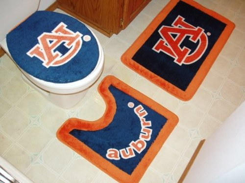 Auburn 3 Piece Bath Rug Set at Amazon.com