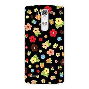 Enticing Multicolor in Black Back Case Cover for LG G3 Mini