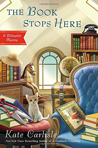 Image of The Book Stops Here: A Bibliophile Mystery