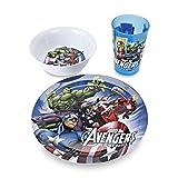 Avengers Assemble Boys 3 Piece Dish Set-Disney