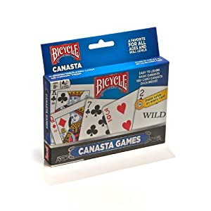 Bicycle Canasta Games Playing Cards