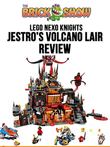 LEGO Nexo Knights Jestro's Volcano Lair Review