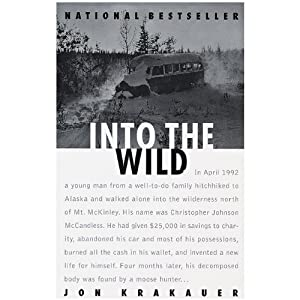 1 X Into the Wild 1997 Anchor paperback by Jon Krakauer
