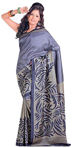 Samskruti Sarees Raw Silk Saree (Spas-38 _Grey)