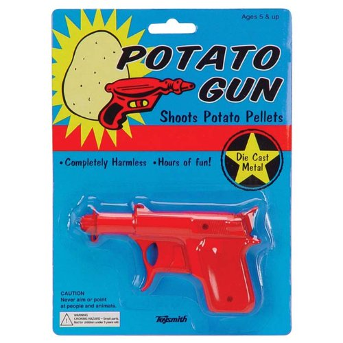 Potato Gun (Die-Cast) Also serves as a limited roll cap gun.