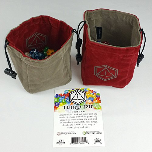 Find Your Dnd Dice Bag HERE! Leather, Fabric & Chain Mail Dice Bags
