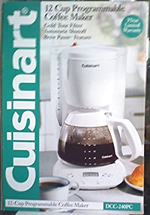 Cuisinart DCC-240PC 12 Cup Programmable Coffee Maker