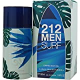 Carolina Herrera 212 Men Surf Eau De Toilette Fragrance Spray For Him 100ml