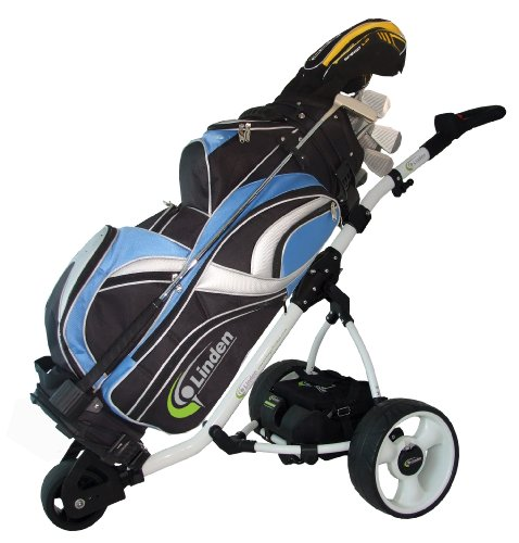 Linden Fairway UK Built Golf Trolley (with 18 Hole Battery  &  Charger)