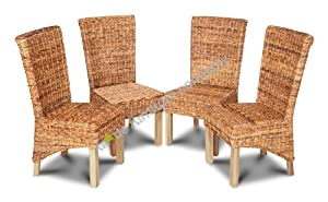 Havana Rollback Chairs Light Leg Set of 4       Customer review and more news