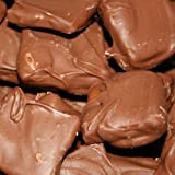 Chocolate Covered Butter Toffee (Milk Chocolate, 1 Pound) (With a No Melt Guarantee)