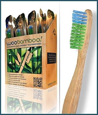 Woobamboo Bamboo Toothbrush 25 pack