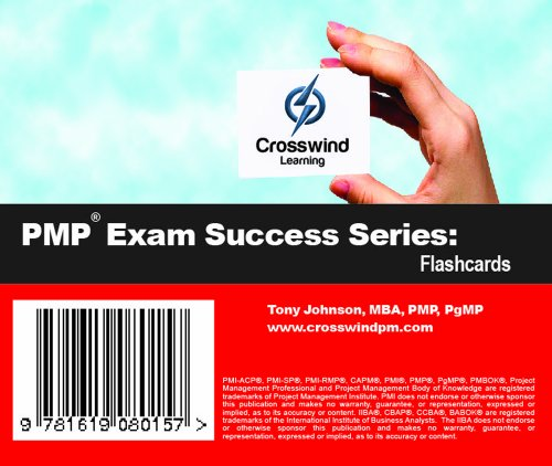 Pmp Exam Success Series: Flashcards back-982304