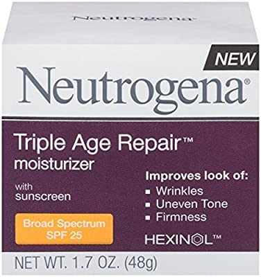 Best Cheap Deal for Neutrogena Triple Age Repair Moisturizer Broad Spectrum SPF 25, 1.7 Ounce from Neutrogena - Free 2 Day Shipping Available