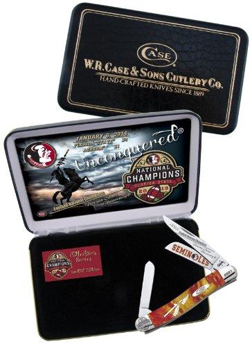 Case Cutlery Case Cutlery|Fsu-9318Gr|Golden Ruby Corelon Medium Stockman Knife In Gift Box With Stainless Steel Blades|Golden Ruby Corelon Handle