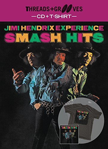 Threads & Grooves (CD & T-Shirt) by THE JIMI HENDRIX EXPERIENCE (2012-02-01)
