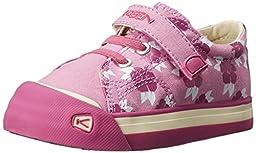 KEEN Coronado Print Shoe (Toddler), Lilac Chiffon Hibiscus Flower, 7 M US Toddler