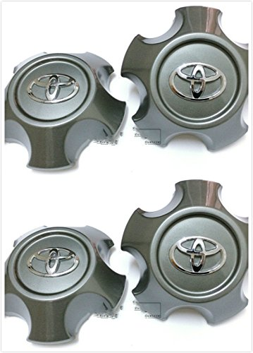 Brand NEW 4 Pieces Set 2008,2009,2010,2011 Toyota Land Cruiser Center Alloy Wheel Hub Caps 4260360671 SET 69527, 69528.US Fast shipment (Cruiser Alloy Wheel Center Cap compare prices)