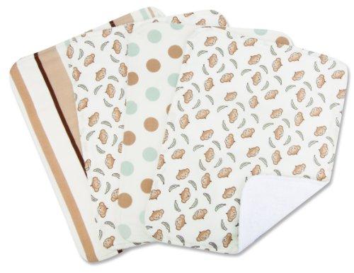 Trend Lab Set Of 4 Burp Cloth, Morgan front-399549