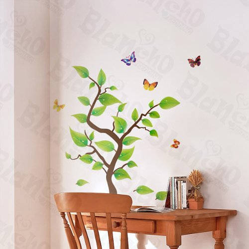 Happy Tree - Wall Decals Stickers Appliques Home Decor