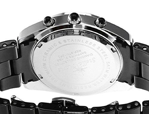 stella maris damen armbanduhr analog quarz premium keramik diamanten stm15f2 uhren. Black Bedroom Furniture Sets. Home Design Ideas